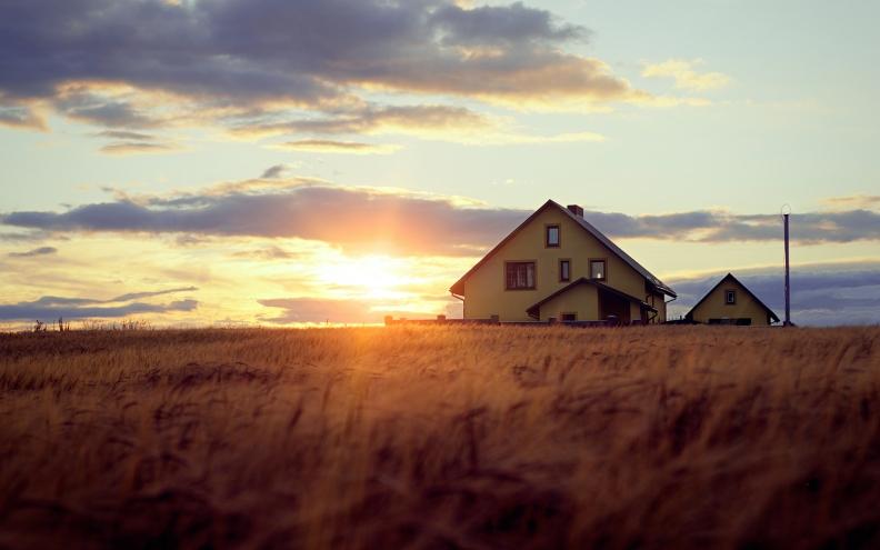 sunset-over-a-farm-296509