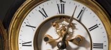 Victorian clock face